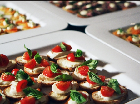 Canapes for Mini canape cases